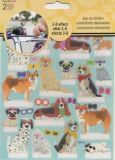 SANDYLION Hunde Pop Up / 3D Effekt Sticker