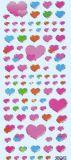 HobbyFun Herz Valentino Glossy Sticker