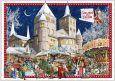 TAUSENDSCHÖN Gruss aus Trier / Weihnachtsmarkt - Hofburg Postkarte