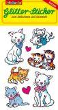 LUTZ MAUDER Kätzchen Glitter Sticker