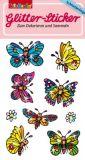 LUTZ MAUDER Schmetterlinge Glitter Sticker