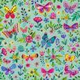 GOLLONG Schmetterlinge + Blumen - Mila Marquis Postkarte