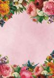 SCHREIB MIT HERZ Bunte Blütenvielfalt 20 Blatt Briefpapier A4