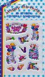 POSTLER Happy Birthday / Schriftzug 3D Sticker