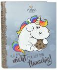 PUMMELEINHORN Flauschig Ringbuchordner A4