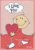 MILA I love you - Mr. Smile Postkarte
