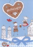 MILA München Postkarte