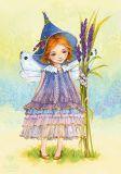 LOVELYCARDS Fliederfee - Evgenia Chistotina Postkarte