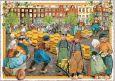TAUSENDSCHÖN Käsemarkt Holland Postkarte