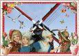 TAUSENDSCHÖN Windmühle Holland Postkarte
