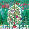 GOLLONG Weihnachtsbaum mit vielen kleinen Tannenbäumen - Mila Marquis Postkarte