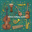 GOLLONG Musikinstrumente - Mila Marquis Postkarte