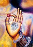 DANACARDS Buddhas Hand - Suvarnadipa Postkarte