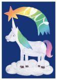NOBIS DESIGN Fairytale Einhorn schönegrüsse Postkarte