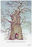 LENNART HELJE Eine schöne Weihnachtszeit / Zwerg im Baum Postkarte