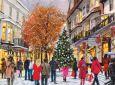 ACARDS Weihnachtsshopping - D. R. Laird Postkarte