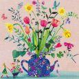 GOLLONG Frühlingsblumen in Kanne - Mila Marquis Postkarte
