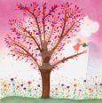 TAURUS-KUNSTKARTEN Elfe gießt Blumen - Libby Heinemann Postkarte