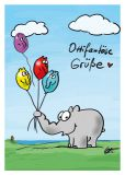 MT Ottifantöse Grüße - Otto Waalkes / Ottifanten Postkarte