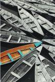 ABC Viele Boote MOMENTS OF COLOUR Postkarte