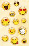 AVANsticker Glückliche Smileys Sticker