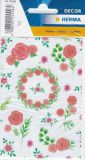 Herma Beautiful Rose Glitzer Sticker