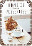HARTUNG EDITION Home is where my Mietzekatze is! IN TOUCH Postkarte