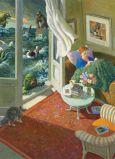 INKOGNITO Liebe Lesen - Michael Sowa  Postkarte