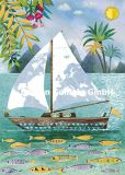 GOLLONG Segelboot - Mila Marquis Postkarte