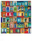 AQUAPURELLA Türen und Fenster der Welt - Bon Voyage Postkarte + Umschlag
