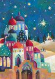 GRÄTZ Orientalische Stadt - Aurélie Blanz Postkarte