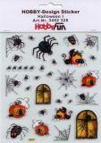 HobbyFun Halloween Hobby-Design Sticker