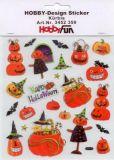 HobbyFun Halloween - Kürbisse Hobby-Design Sticker