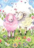 GOLLONG Zwei Schafe - Carola Pabst Postkarte