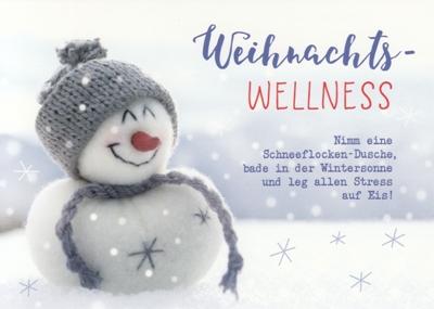 gwbi weihnachts wellness schneemann weihnachtsw nsche. Black Bedroom Furniture Sets. Home Design Ideas