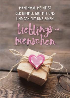 Gwbi Himmel Schickt Uns Lieblingsmenschen Paket Mit Herz Classic