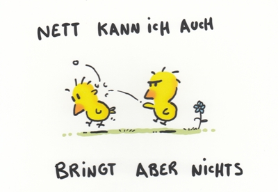 Rannenberg Nett Kann Ich Auch Küken Postkarte
