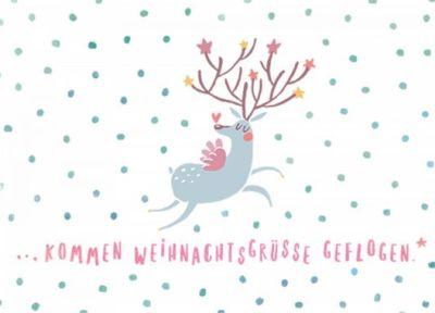Weihnachtsgrüße Postkarte.Gwbi Kommen Weihnachtsgrüße Geflogen Weihnachtswünsche Postkarte