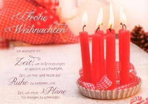 gwbi frohe weihnachten 6 kerzen weihnachtsw nsche postkarte