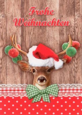 Gwbi frohe weihnachten weihnachtsreh weihnachtsw nsche for Weihnachtsreh beleuchtet