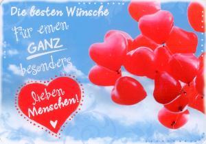 Hartung Edition Für Einen Lieben Menschen Heart In Touch Postcar
