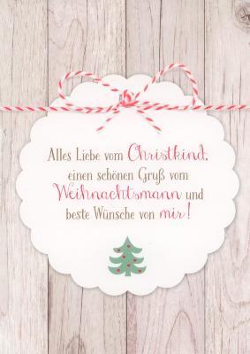 gwbi alles liebe vom christkind weihnachtsw nsche postkarte. Black Bedroom Furniture Sets. Home Design Ideas