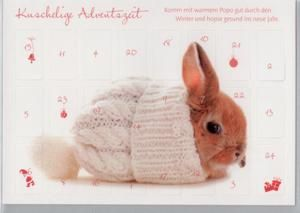 hasen adventskalender