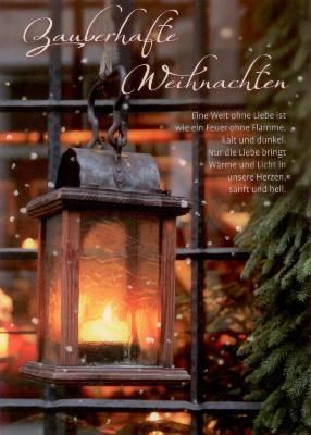 gwbi zauberhafte weihnachten weihnachtsw nsche postkarte. Black Bedroom Furniture Sets. Home Design Ideas