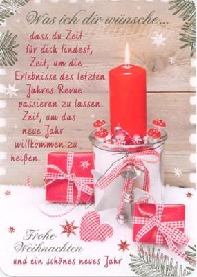 Weihnachten IN TOUCH Postkarte