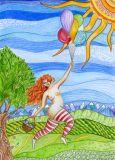 DANACARDS Mudita - Lilli Kuhn Postkarte