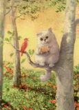 INKOGNITO Akkordeon - Rudi Hurzlmeier Postkarte
