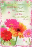 HARTUNG EDITION Dem Fröhlichen gehört Welt IN TOUCH Postkarte
