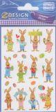 Z-Design Frohe Ostern Hasen Sticker