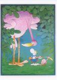 MT Jäger und Vogel - Mordillo Postkarte